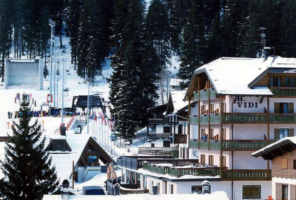 Alpen Hotel Vidi - La struttura