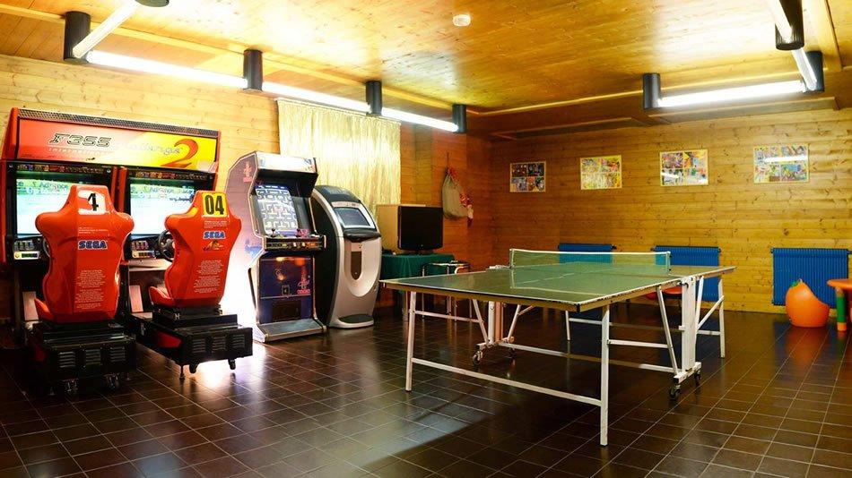 Grifone Hotel - Sala giochi